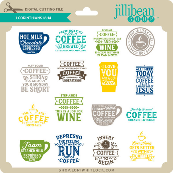 Coffee Phrase Bundle 3