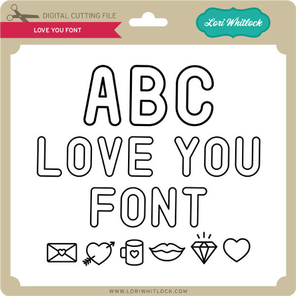 Love You Font