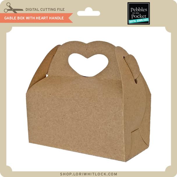 Gable Box with Heart Handle