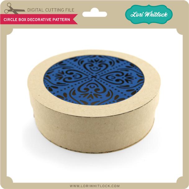 Circle Box Decorative Pattern