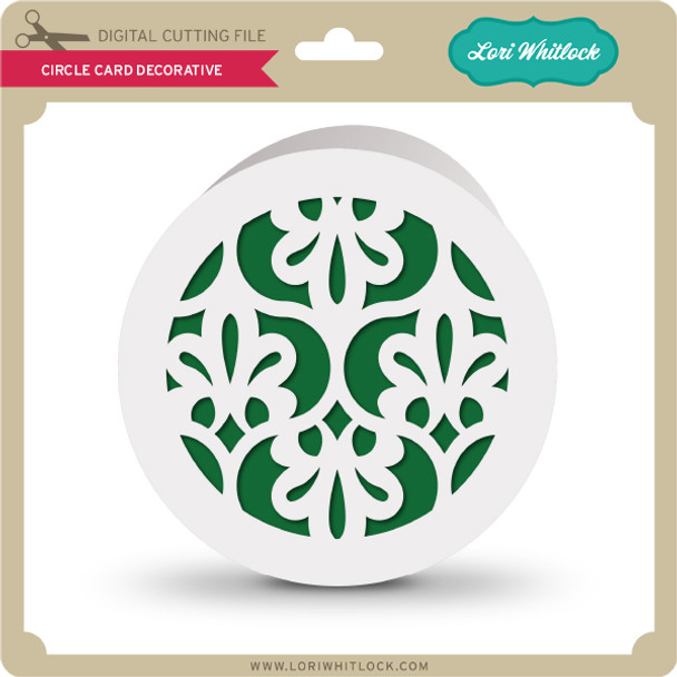 CIrcle Card Decorative