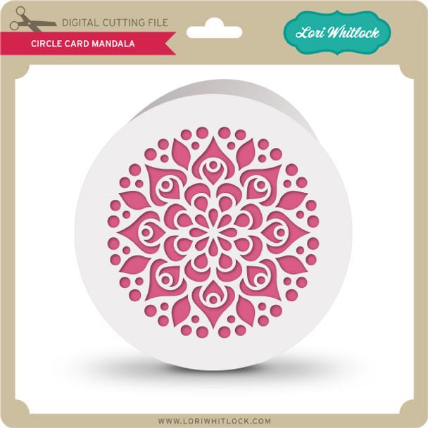 Circle Card Mandala