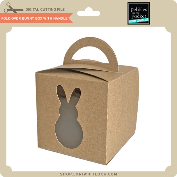 Fold Over Bunny Box with Handle