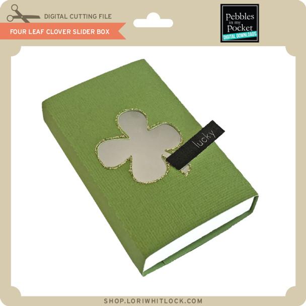 Four Leaf Clover Slider Box