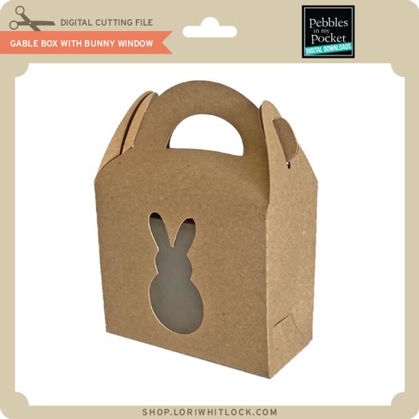 Gable Box with Bunny Window
