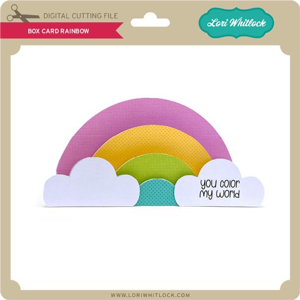 Box Card Rainbow