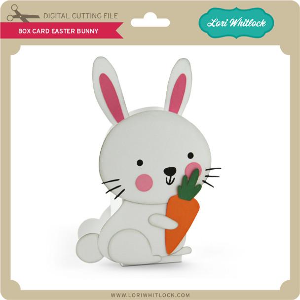 Box Card Easter Bunny 2