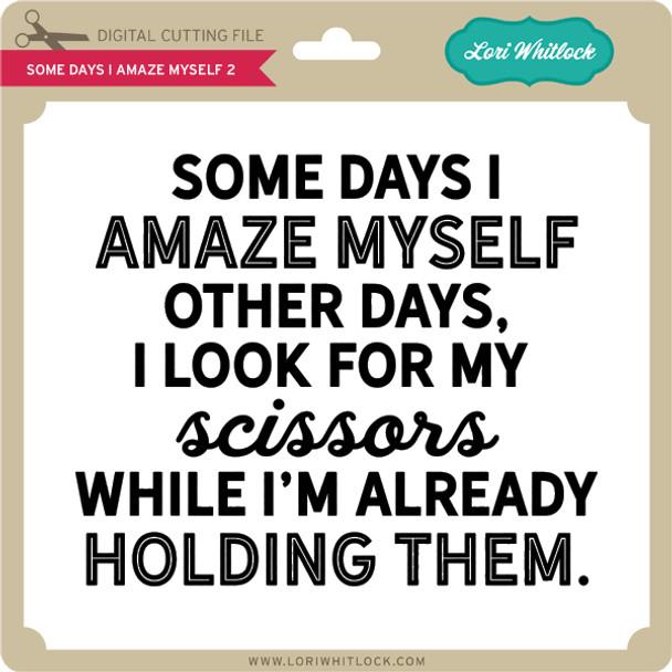 Some Days I Amaze Myself 2