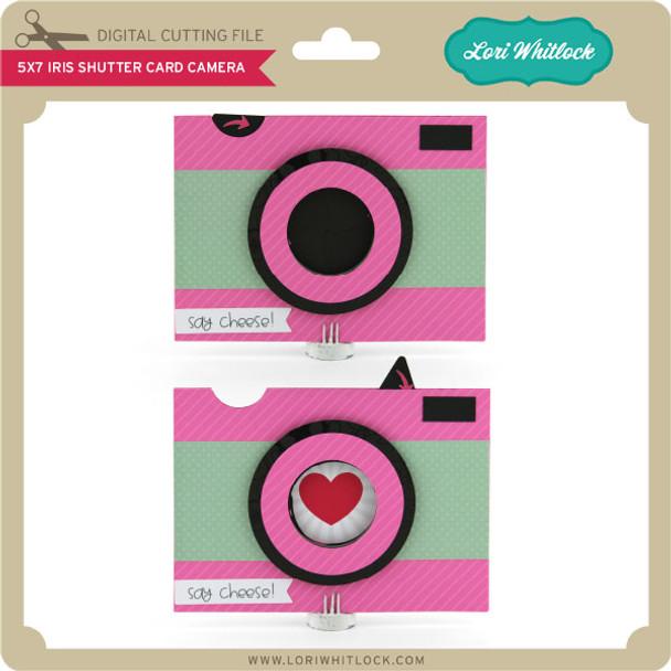 5x7 Iris Shutter Card Camera