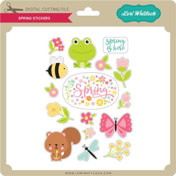 Spring Stickers