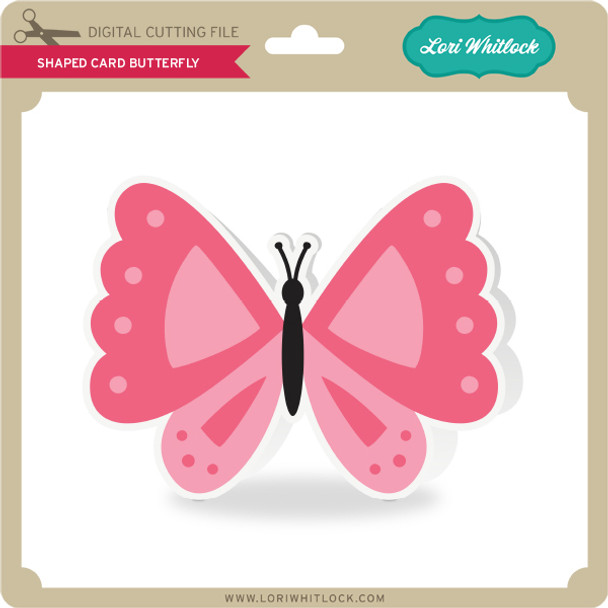 Shaped Card Butterfly