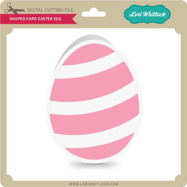 Shaped Card Easter Egg