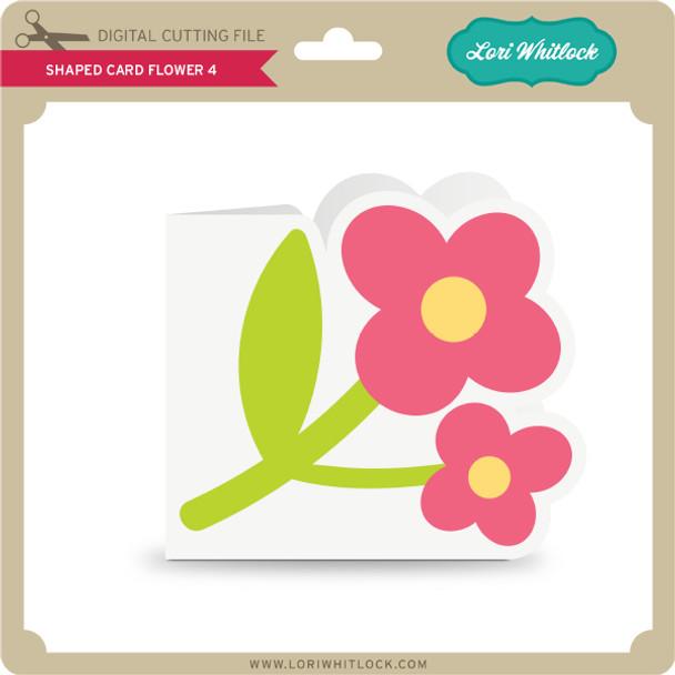 Shaped Card Flower 4