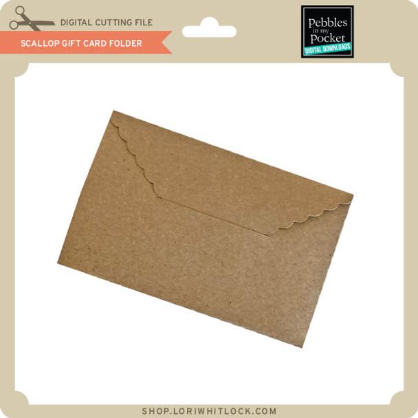 Scallop Gift Card Folder