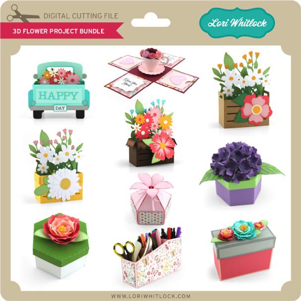 3D Flower Project Bundle