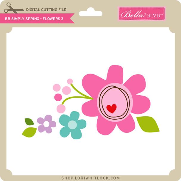 BB Simply Spring - Flowers 3