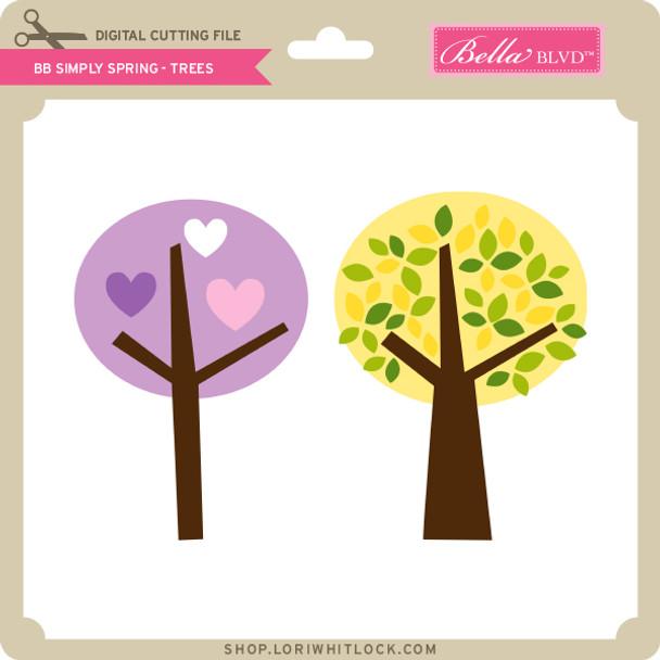 BB Simply Spring - Trees
