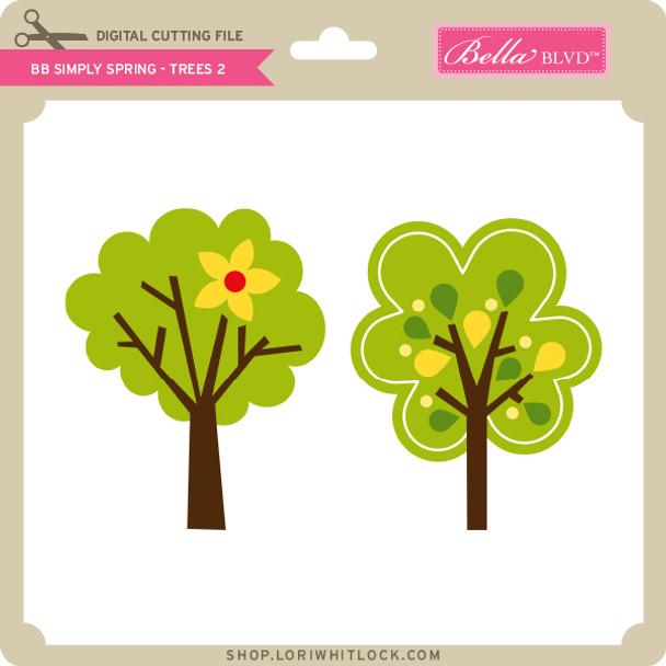 BB Simply Spring - Trees 2