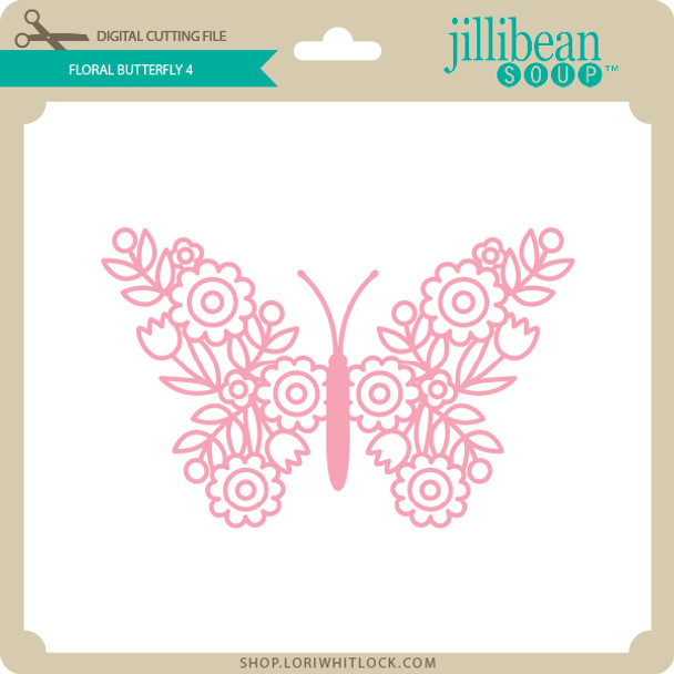 Floral Butterfly 4