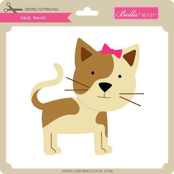 Chloe - Tan Cat