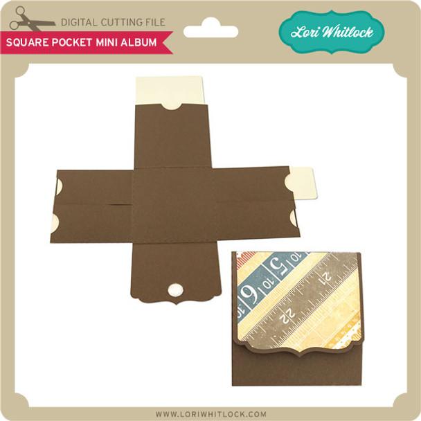 Square Pocket Mini Album