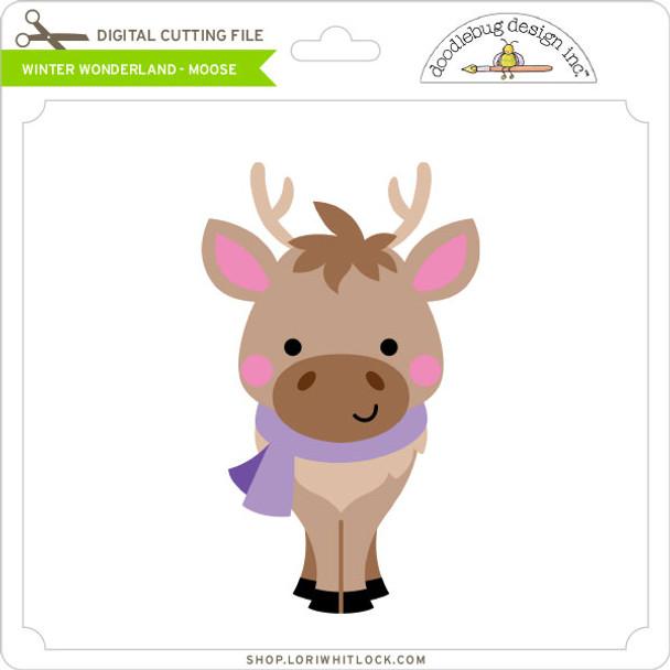 Winter Wonderland - Moose