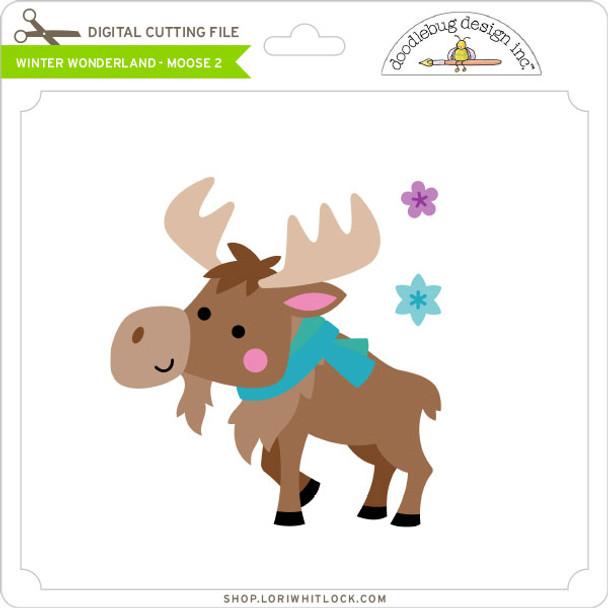 Winter Wonderland - Moose 2