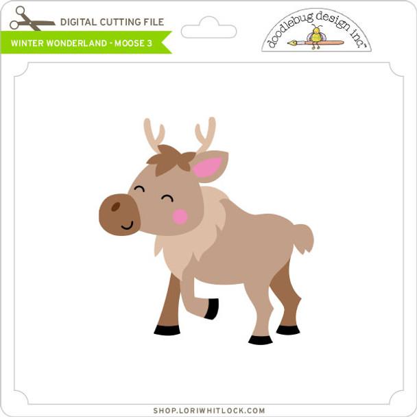 Winter Wonderland - Moose 3