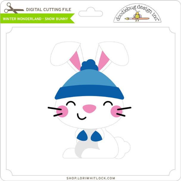 Winter Wonderland - Snow Bunny