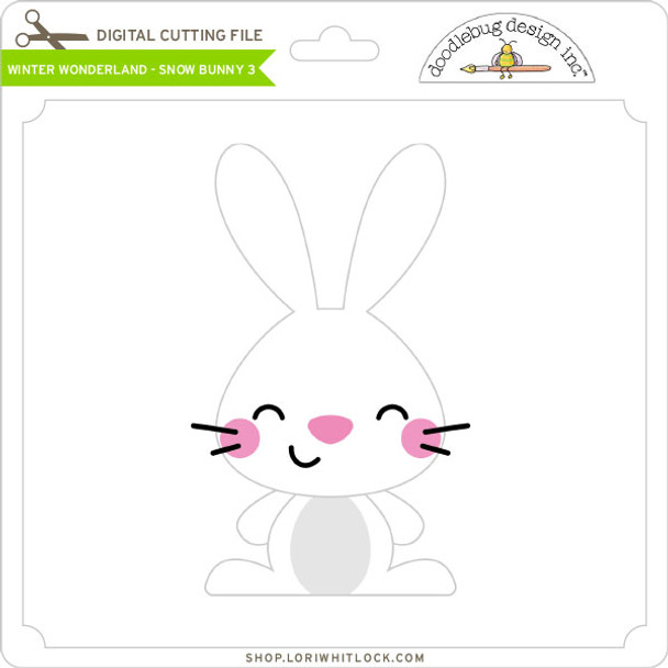 Winter Wonderland - Snow Bunny 3