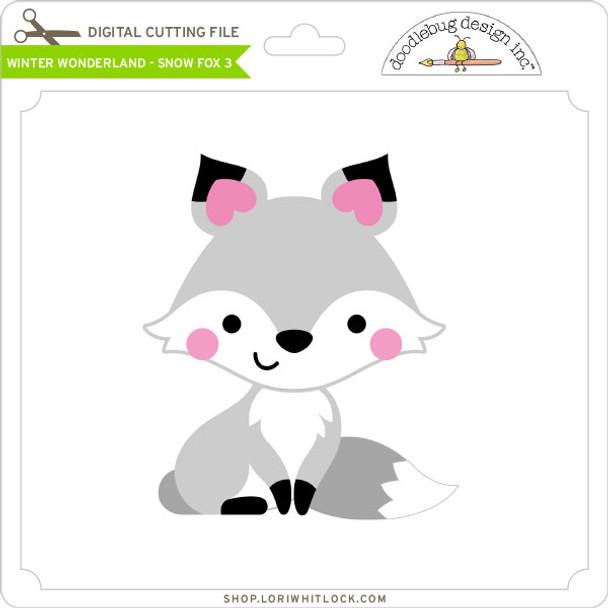 Winter Wonderland - Snow Fox 3