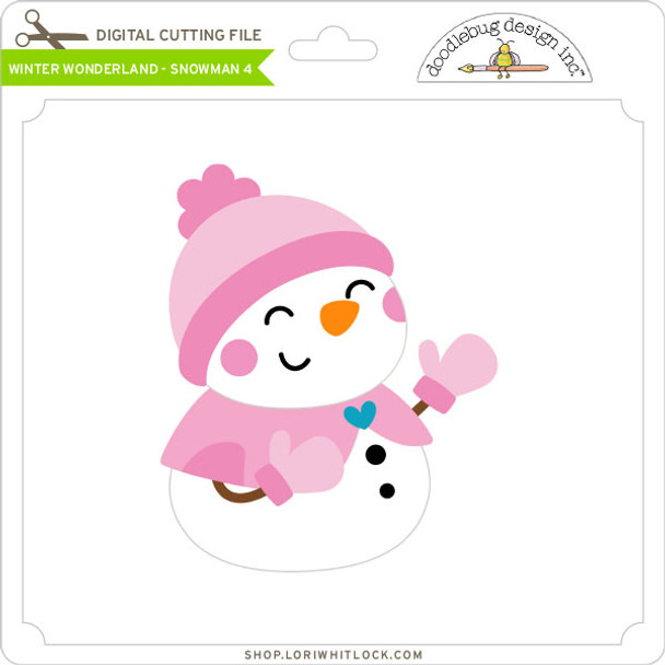 Winter Wonderland - Snowman 4