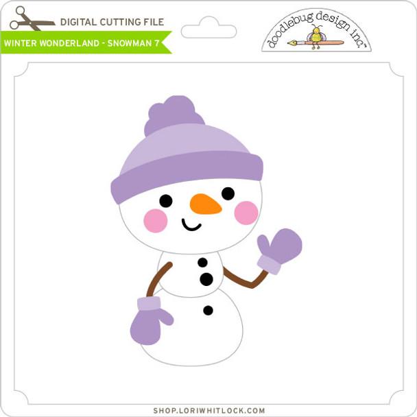 Winter Wonderland - Snowman 7