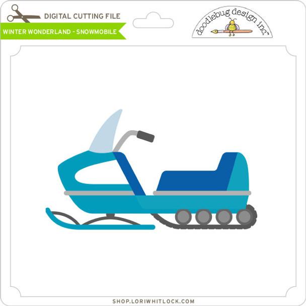 Winter Wonderland - Snowmobile