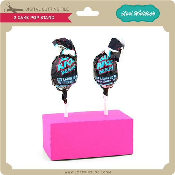 2 Cake Pop Stand