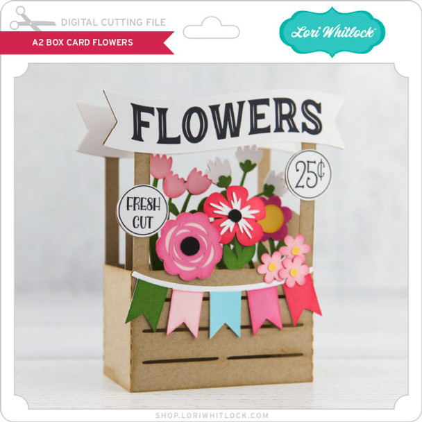 Box Card Flower Stand