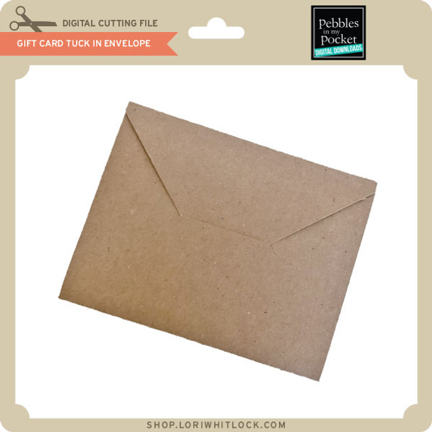 Gift Card Tuck In Envelope