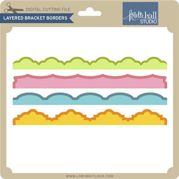 Layered Bracket Borders