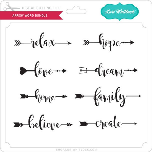 Arrow Word Bundle