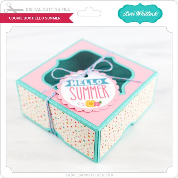 Cookie Box Hello Summer