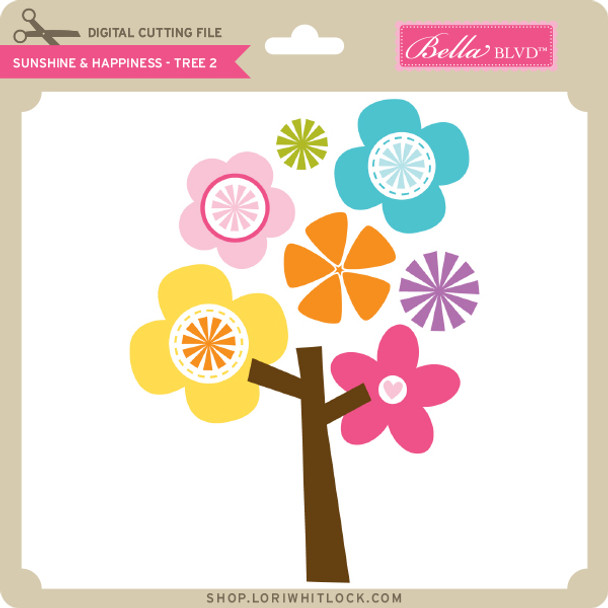 Sunshine & Happiness - Tree 2