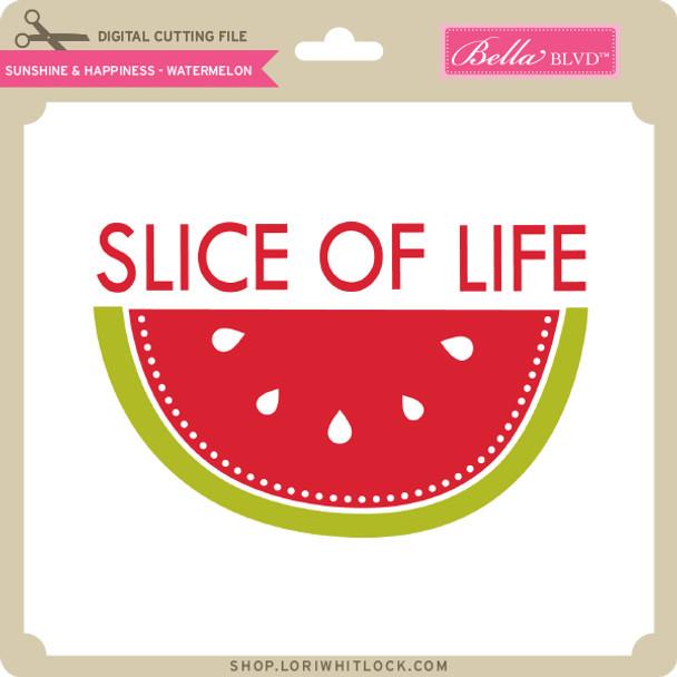 Sunshine & Happiness - Watermelon