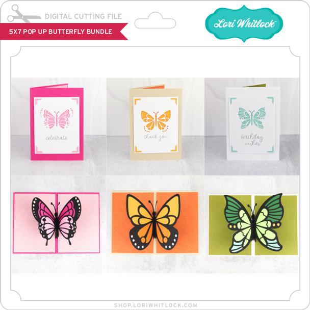 5x7 Pop Up Butterfly Bundle