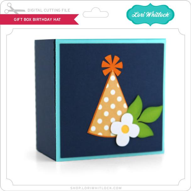 Gift Box Birthday Hat