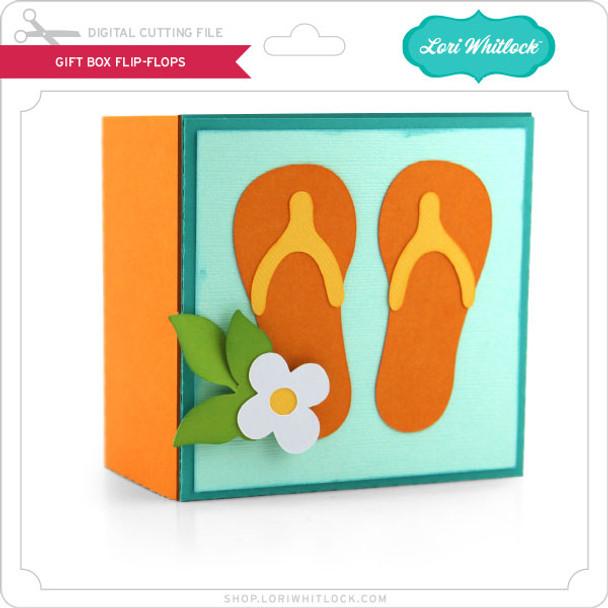 Gift Box Flip Flops