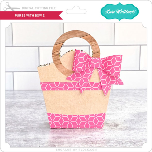 Purse with Bow 2