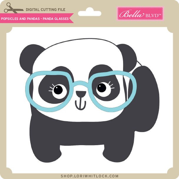 Popsicles and Pandas - Panda Glasses