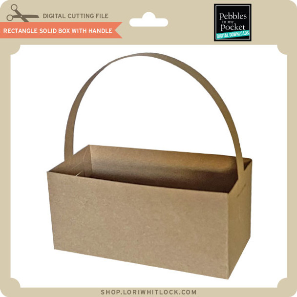 Rectangle Solid Box with Handle