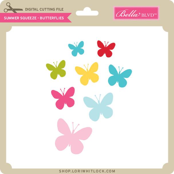 Summer Squeeze - Butterflies