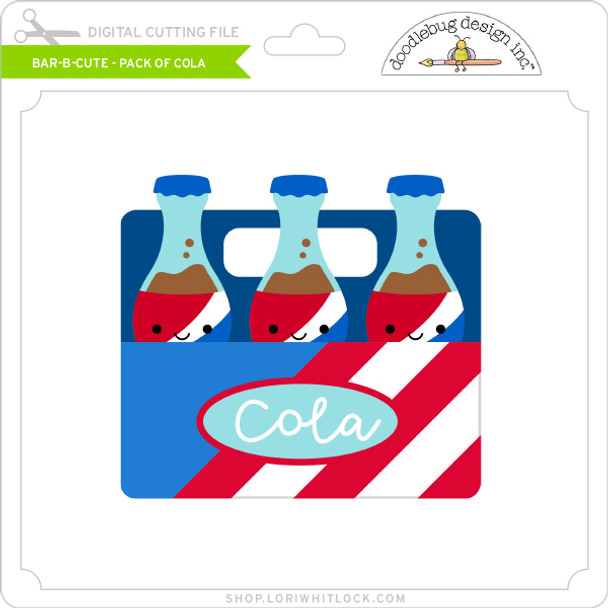 Bar B Cute - Pack of Cola